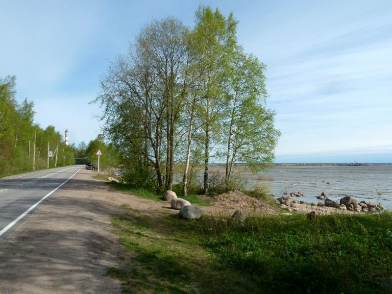 """20160516. На берегу Ладожского озера, в месте называемом """"Дорога Жизни""""."""