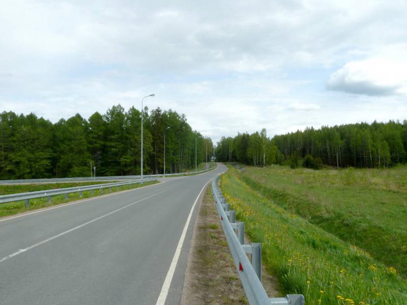 20150524. Типичная автомобильная дорога под городом Ломоносов.