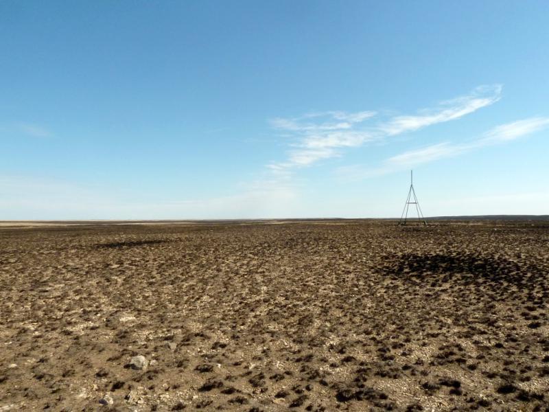 20150917. Выжженная степь, в районе стоянки животноводов Жангызкудук.