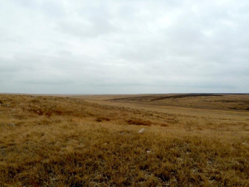 20150920. Вид с холмов неподалеку от солёного озера Обалы-Бекелексор.