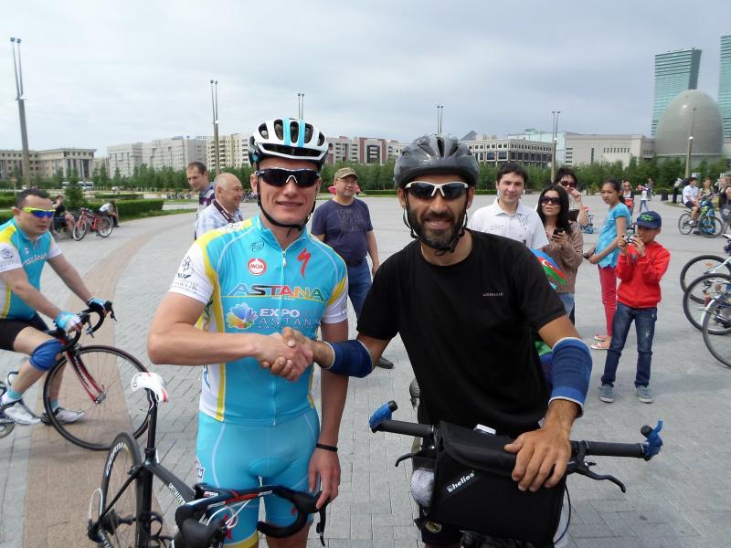 Встреча Рамиля Зиядова с Александром Винокуровым в Астане.