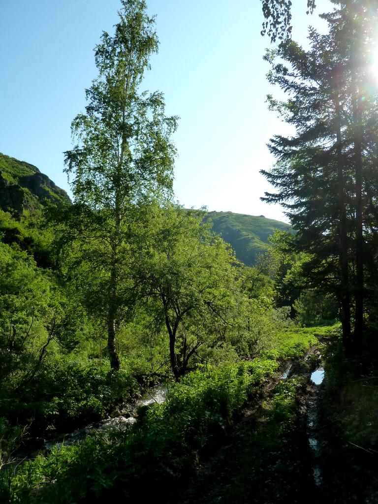 20130607. В ущелье под горой Северной.