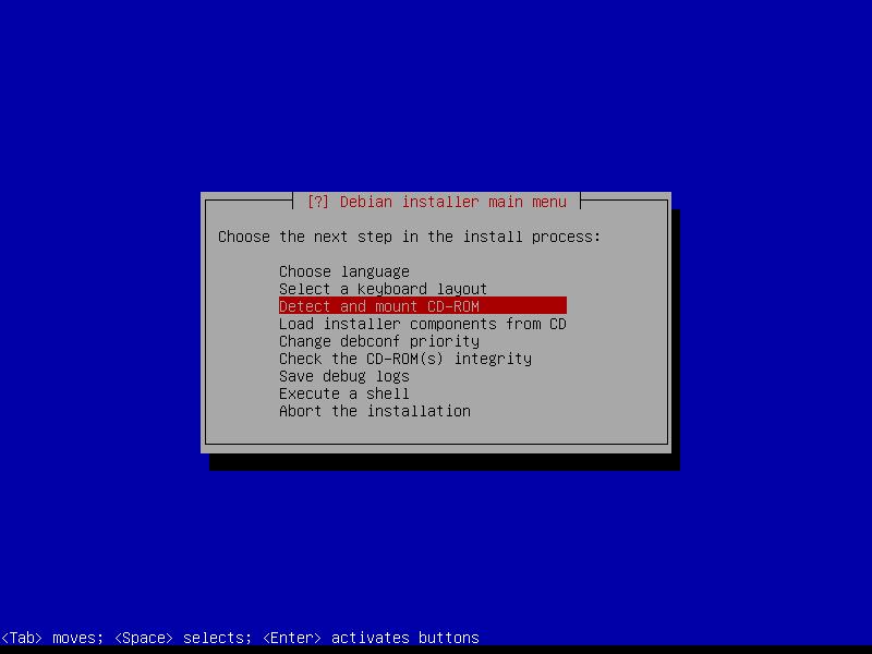 Squeeze: этап детектирования CD-ROM.