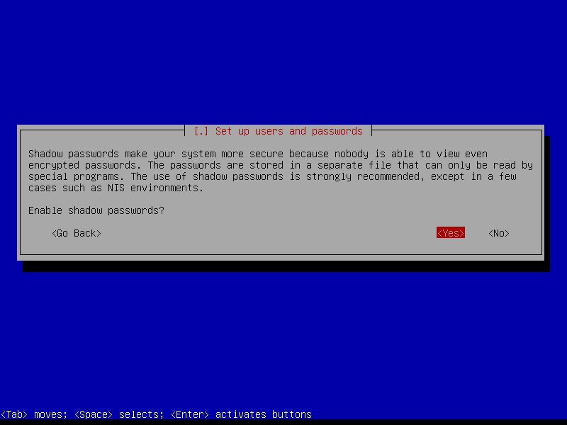 """Squeeze: подтверждаем разрешение использования файла """"теневых"""" паролей."""