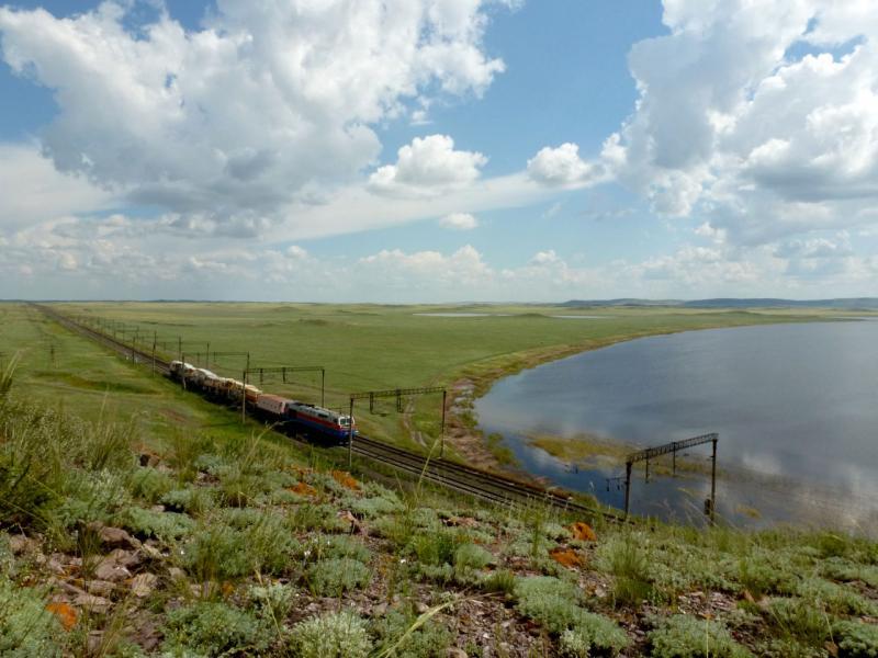 20160806. Вид на северо-восточный берег озера Майколь.
