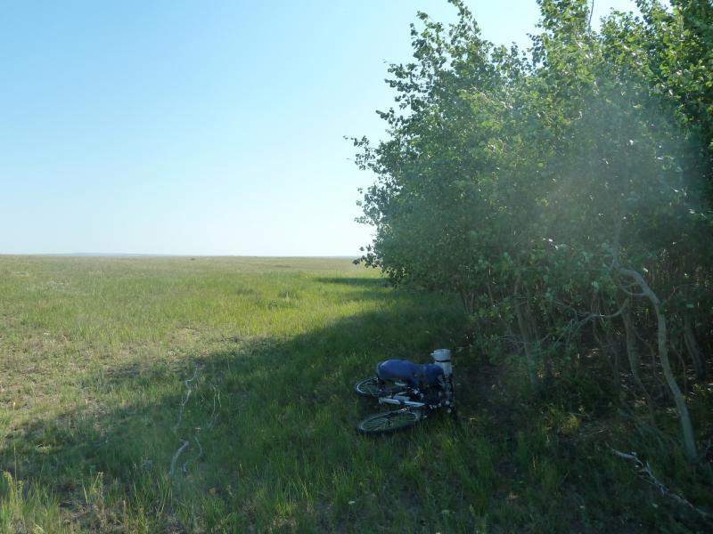 20110811. Павлодар-Астана. Полчаса в тени, и снова можно жить.