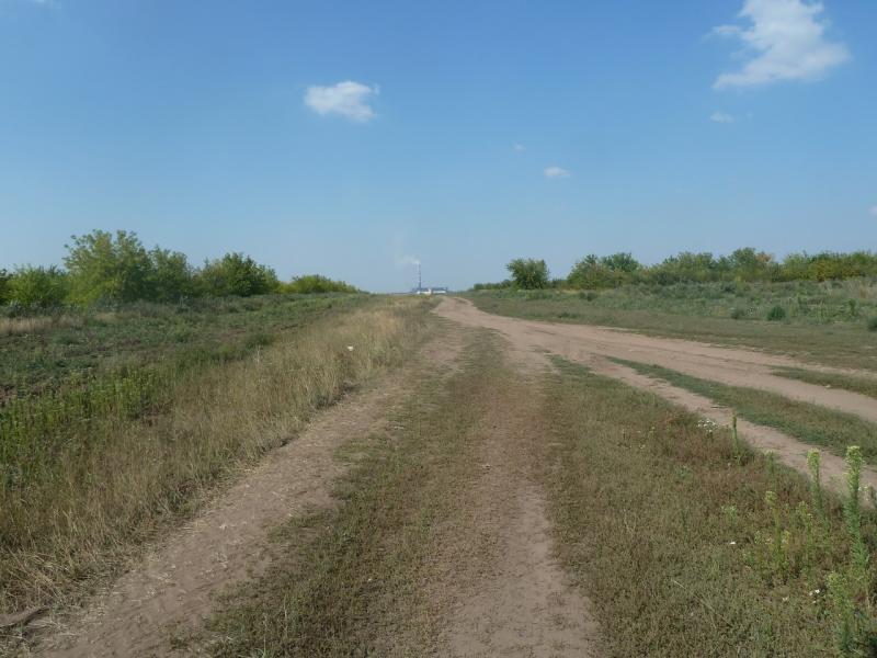 20110812. Павлодар-Астана. Дорога к ТЭЦ Астаны.
