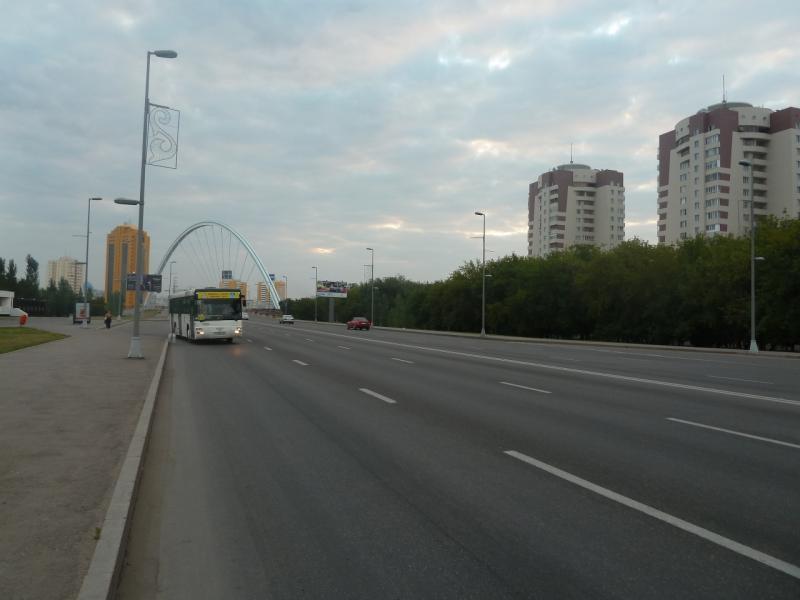 20110816. Астана-Боровое. Утренняя Астана.