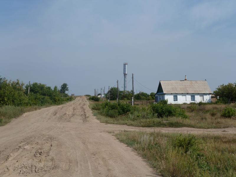 20110816. Астана-Боровое. Проезжаем Елизаветоградское.