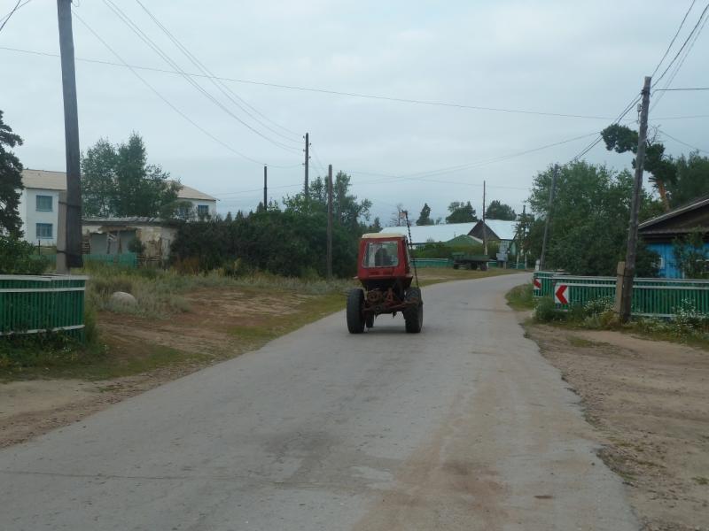 20110817. Астана-Боровое. Село Красный Кордон.