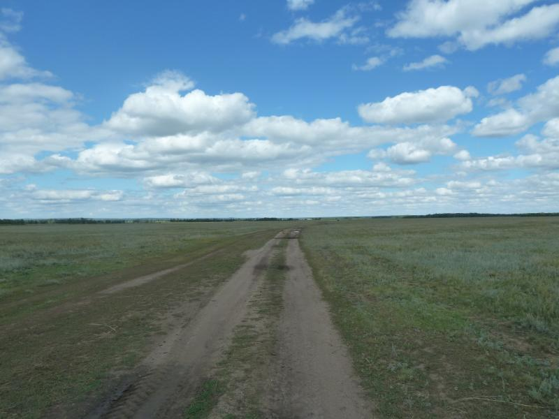 20110818. Астана-Боровое. Дорога на Шиелы.
