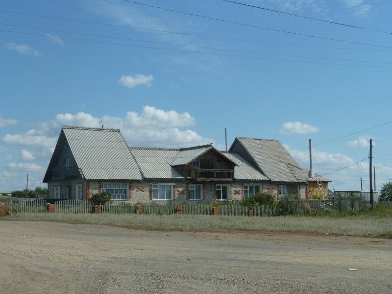 20110822. Боровое-Павлодар. Домики Степняка.