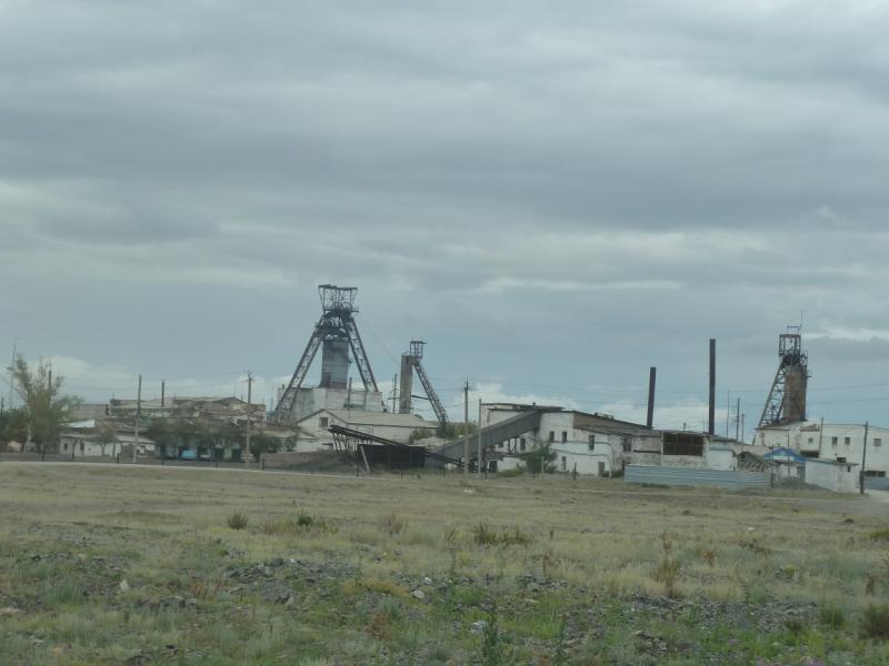20110823. Боровое-Павлодар. Золотая шахта в Бестобе.