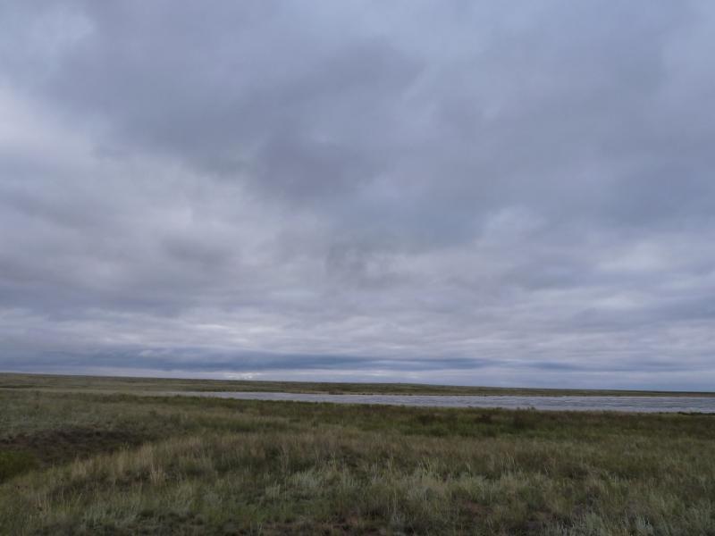 20110825. Боровое-Павлодар. Солёное озеро Кумсаксор.