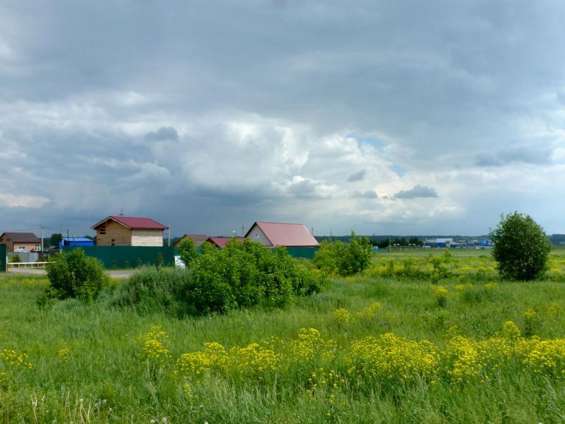 20180620. Вид на окраину села Артёмкино, что в южном пригороде Кемерово.