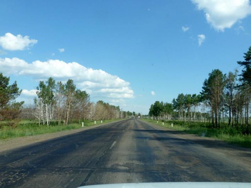 20180621. На пути в Иркутск, через лесостепь в районе посёлка Зима.