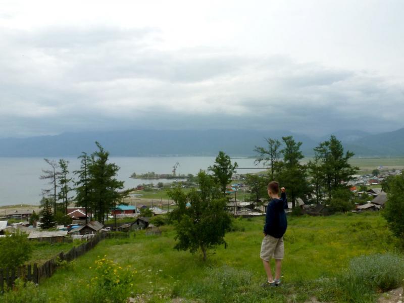 20180622. Вид на залив Култук, юго-западную оконечность озера Байкал.