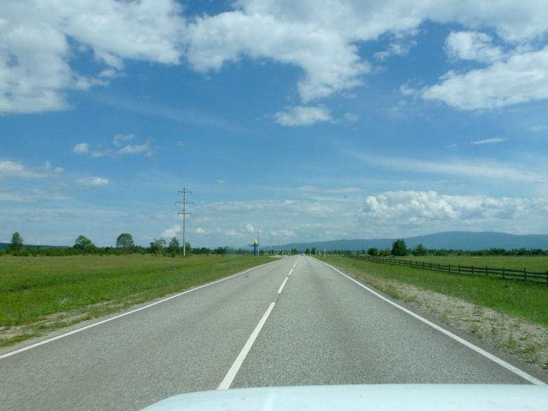 20180623. Дорога A-333 по оси Тункинской долины, изолированному юго-западному куску Бурятии.
