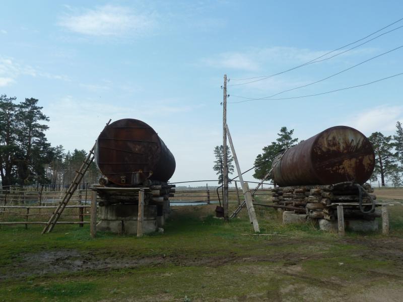 20120516. Краем Щербактинского района: водный запас лесхоза Жанааул.