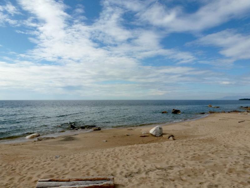 20180624. На пляжном мысе хребта Чёрная Грива, за посёлком Турка.
