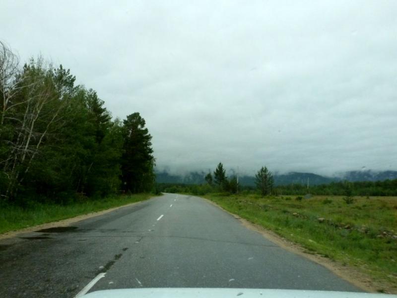 20180625. Последние асфальтированные участи дороги, далее только грейдерные или накатанные грунтовые дороги.