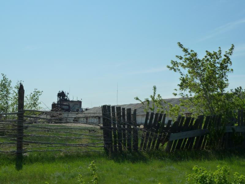 20120524. На юг, вдоль Иртыша: на задах сельскохозяйственной базы села Башмачное.