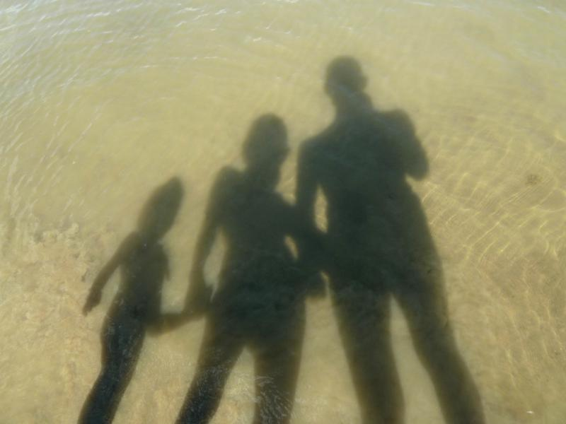20140603. Семейное теневое фото.