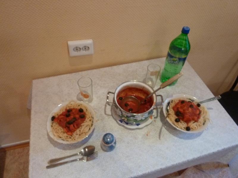 20120614. Stefan Herb. Кулунда. Ужин, приготовленный Стефаном.