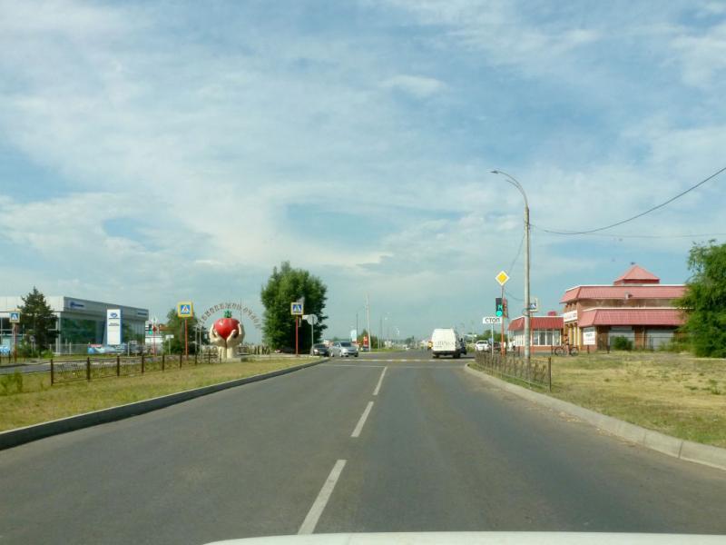 20180629. Минусинск. На выезде из городка.