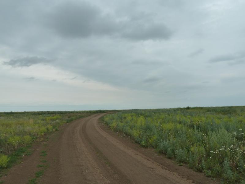 20120630. Баймен-2012: подъём на возвышенность в речки Мойылды.