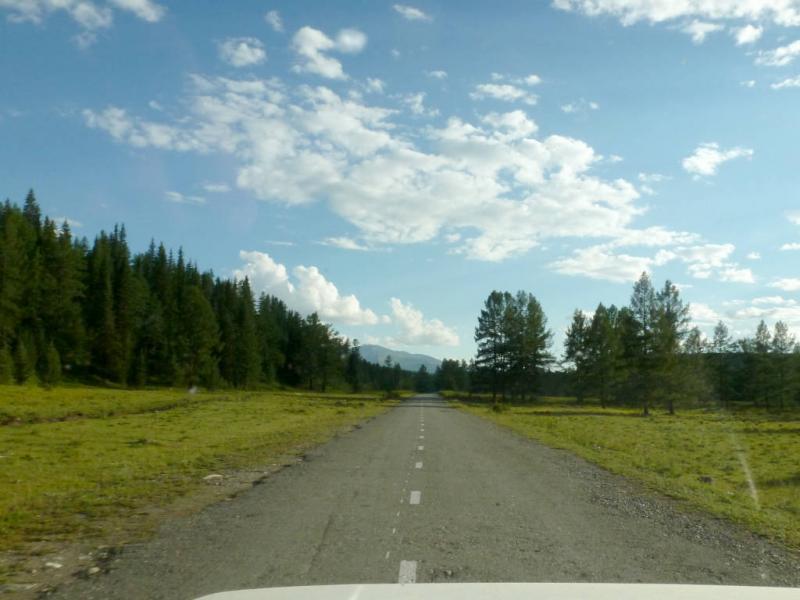 20180809. На Улаганском плато, за пятнадцать километров до одноимённого перевала.