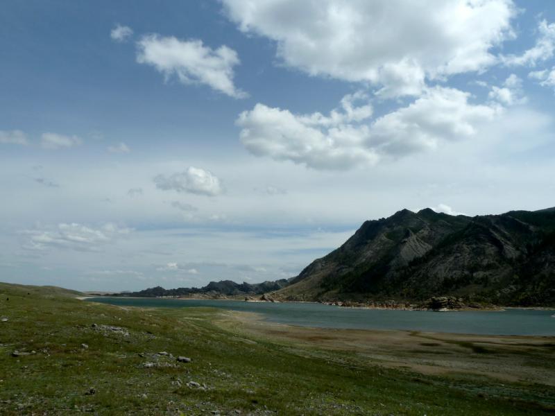 20130424. Вид на озеро Торайгыр.