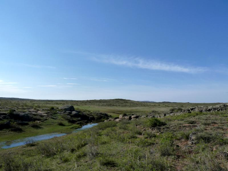 20130426. В горах Жаксы-Сарытау.