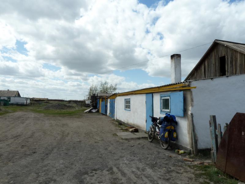 20130427. В селе Коянды (неподалеку от озера Карасор).