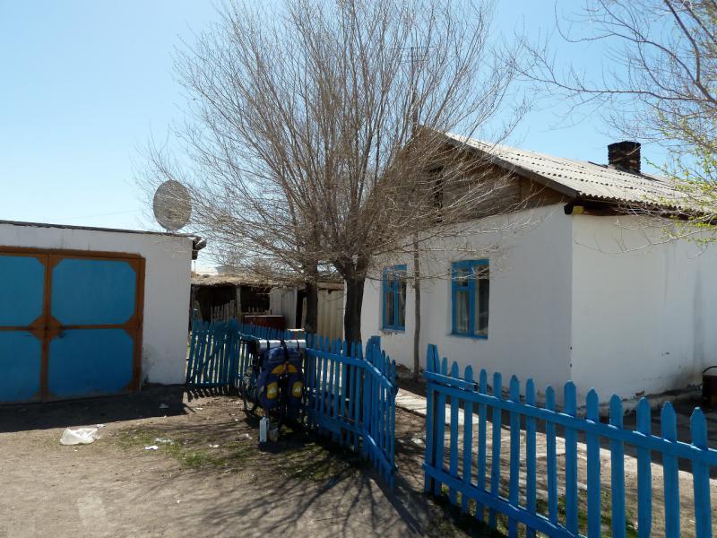 20130503. В селе Кызыларай (оно-же Акжарык).