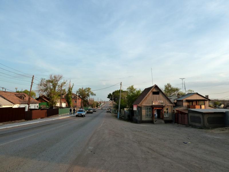 20130508. В селе Сарышаган.