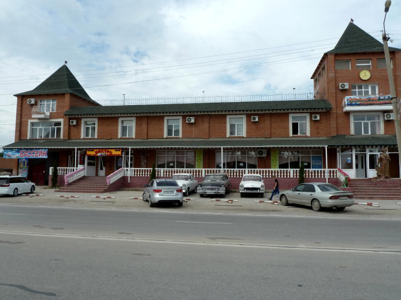 20130513. На главной улице Кордая.