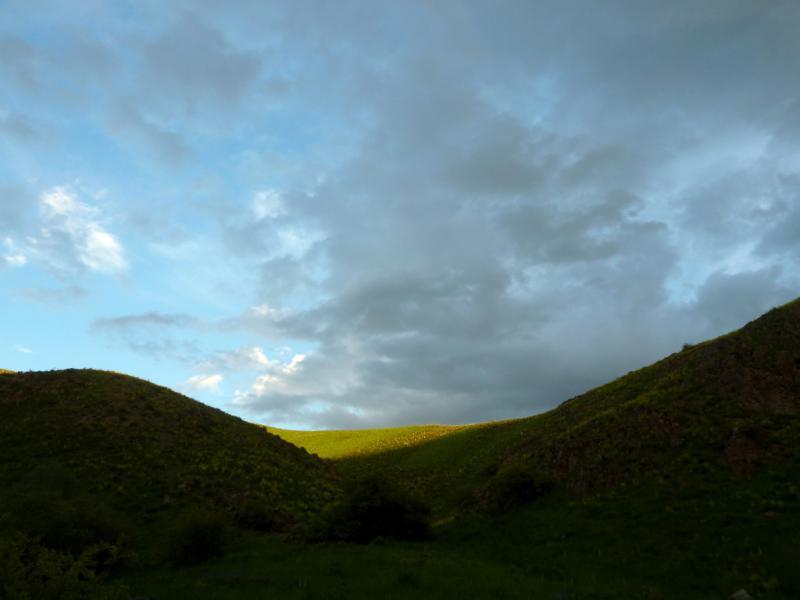 20130513. Вечерний вид в горах.