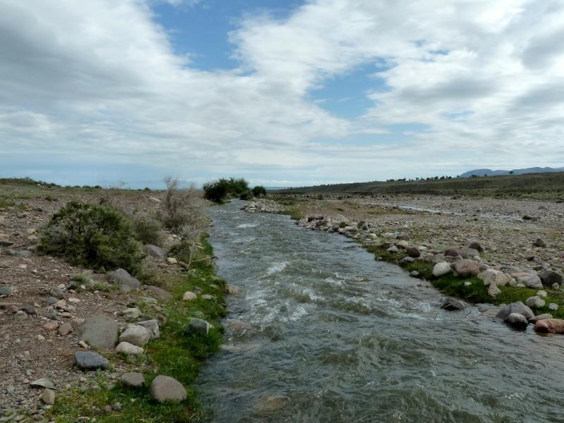 20130520. Поток речки Асы, неподалеку от села Асысага.
