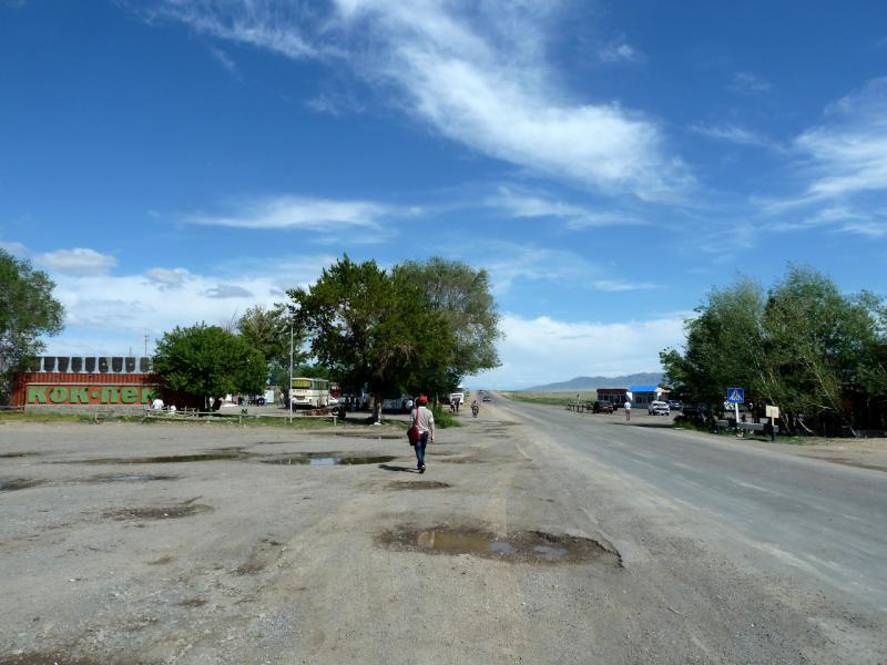 20130520. В местечке Кокпек на дороге A-351.