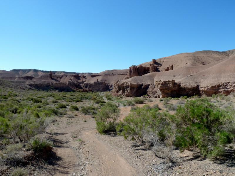 20130522. Спуск в каньон Бартогай.