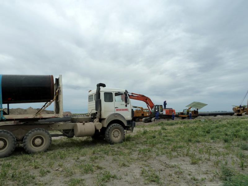 20130524. На месте прокладки газопровода.