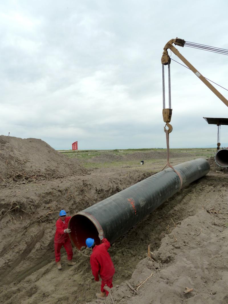 20130524. Прокладка китайского газопровода.