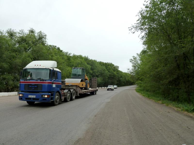 20130524. На дороге Коктал-Жаркент.