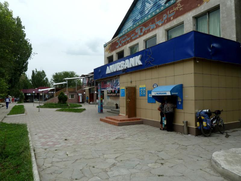 20130524. В центре городка Жаркент.