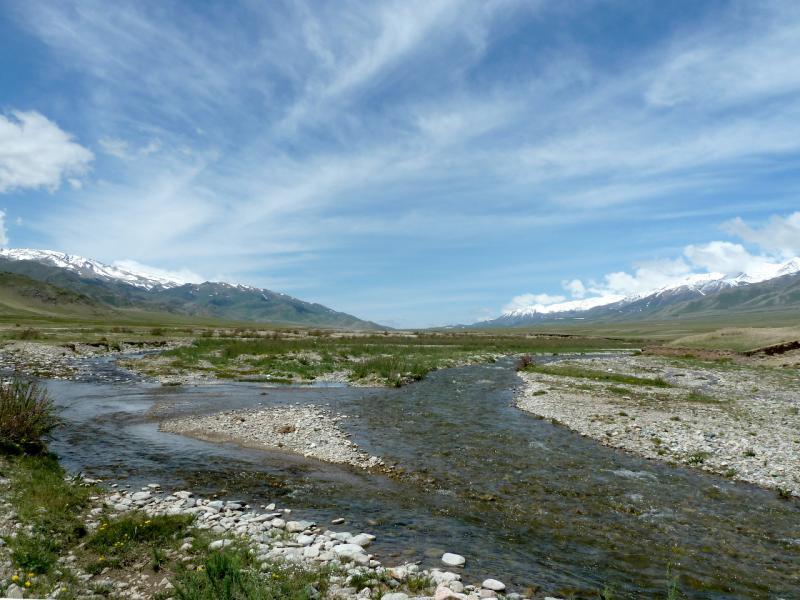 20130526. Речка Борохудзир, в центральной части урочища Аяксаз.