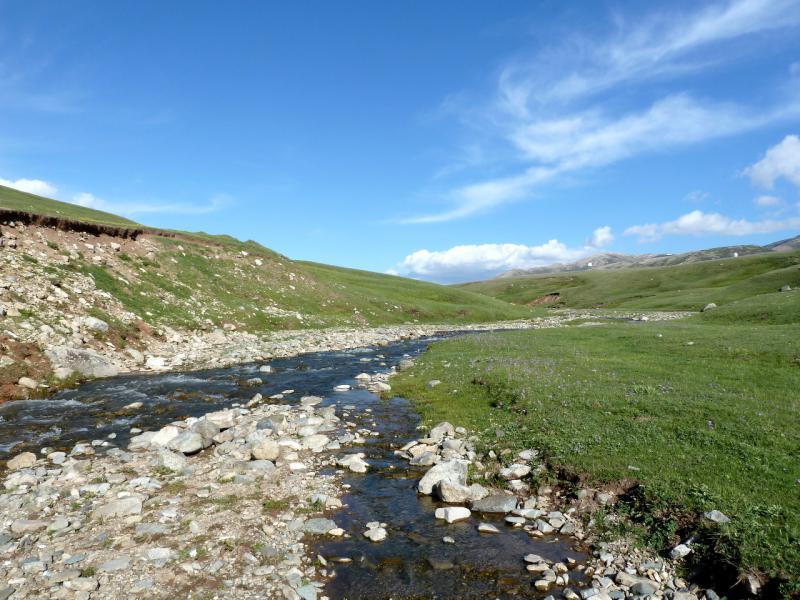20130526. Река Кескентерек, в верхней её части.
