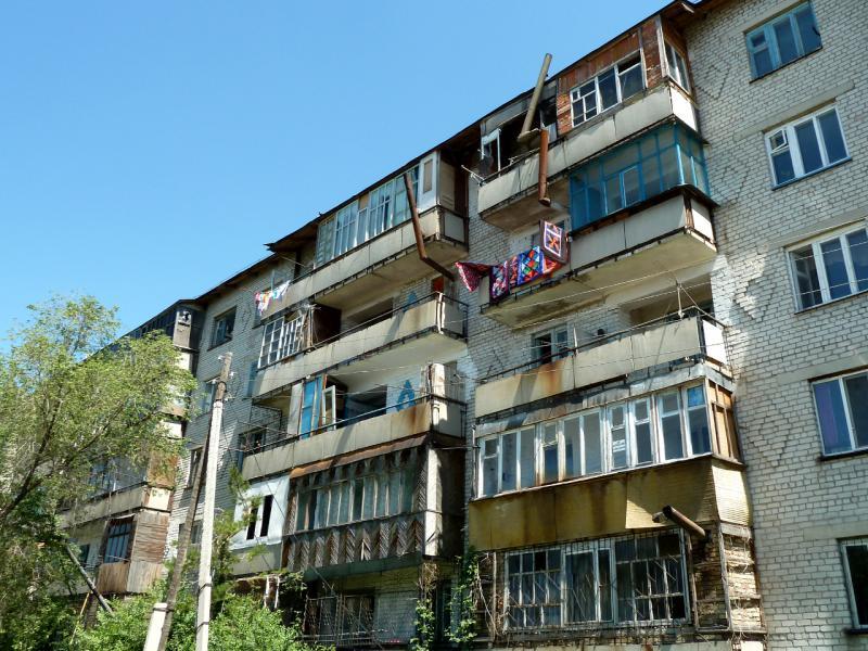 """20130528. В Карабулаке, по видимому центральное отопление """"приказало всем долго жить""""."""