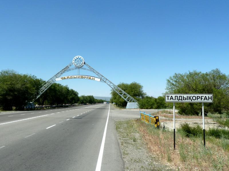 20130528. На границе города Талдыкорган.
