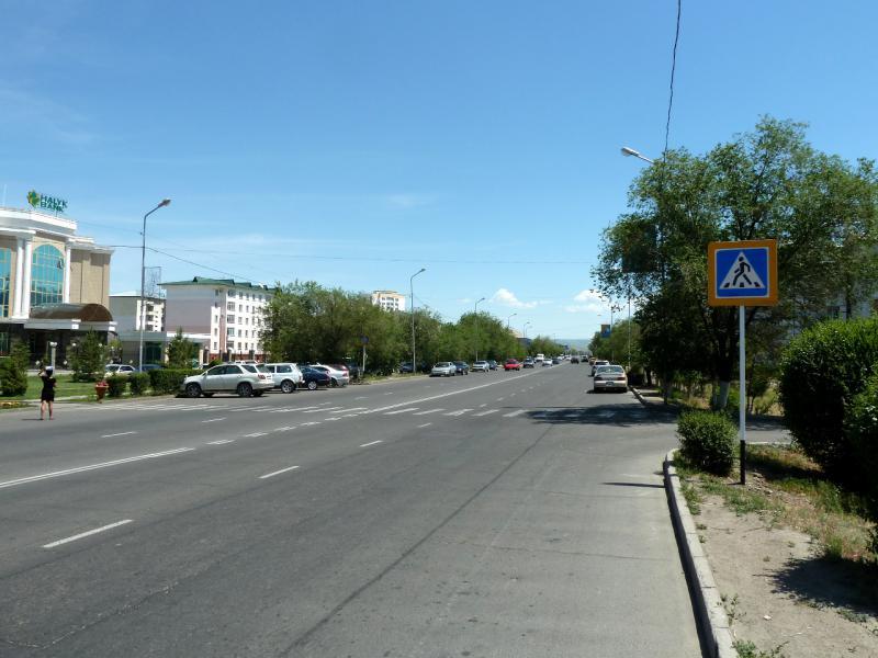 20130529. На одной из главных дорог Талдыкоргана.